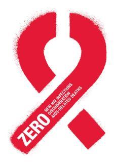 Zero red ribbon