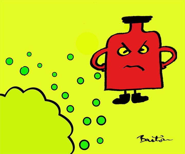 Cartoon drug graphic