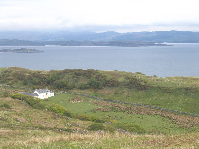 Photo of isolated house by the sea