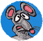 Cartoon of Cecil the lab rat