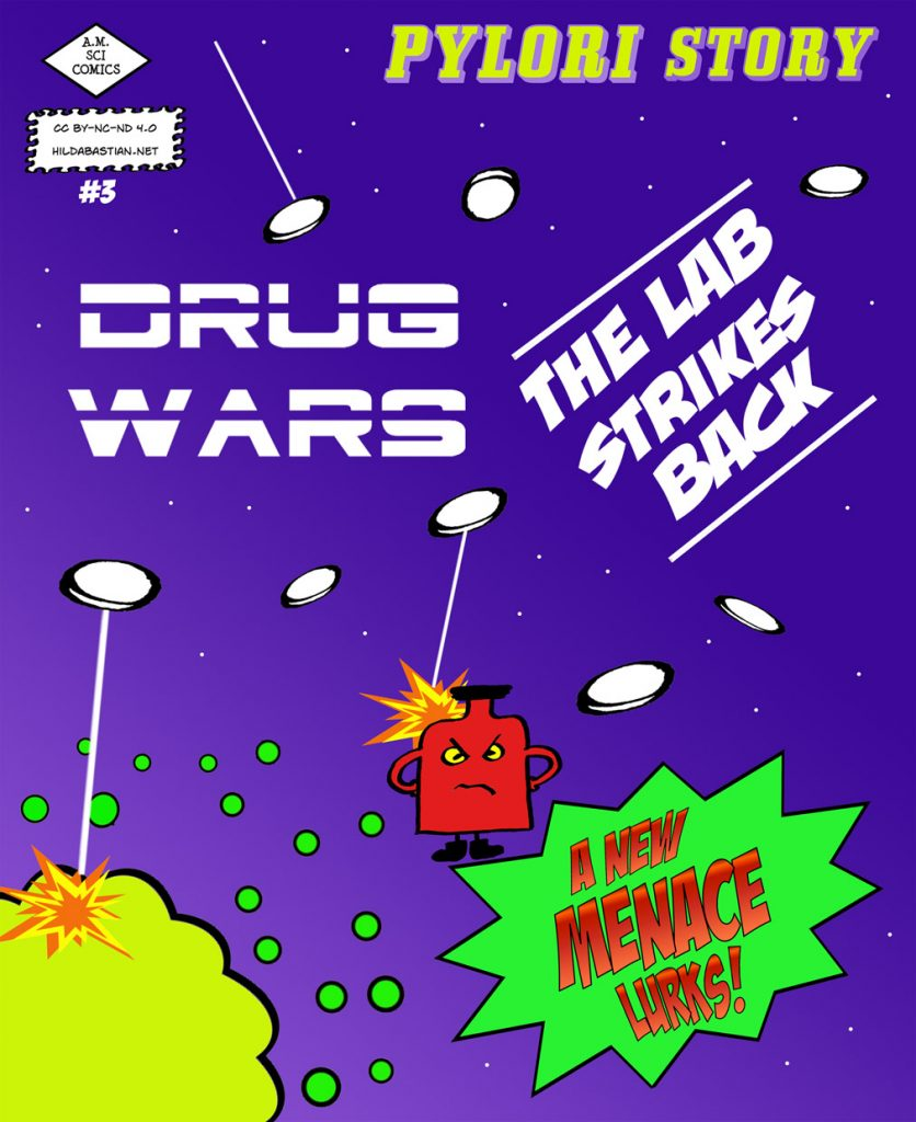 Cover of drug wars - the lab strikes back