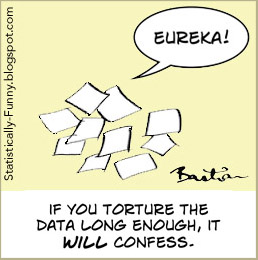 Cartoon - if you torture the data long enough, it will confess