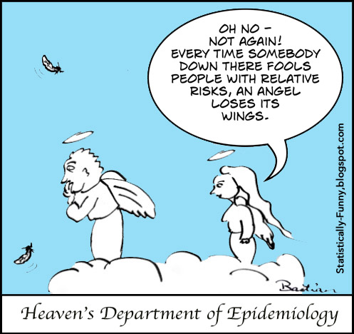Cartoon in heaven's Department of Epidemiology