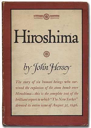 Cover of Hiroshima - book by John Hersey