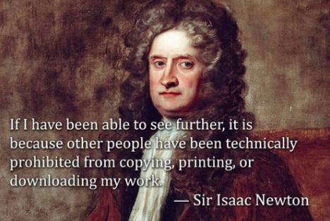 Isaac Newton meme