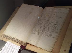 Photo of manuscript