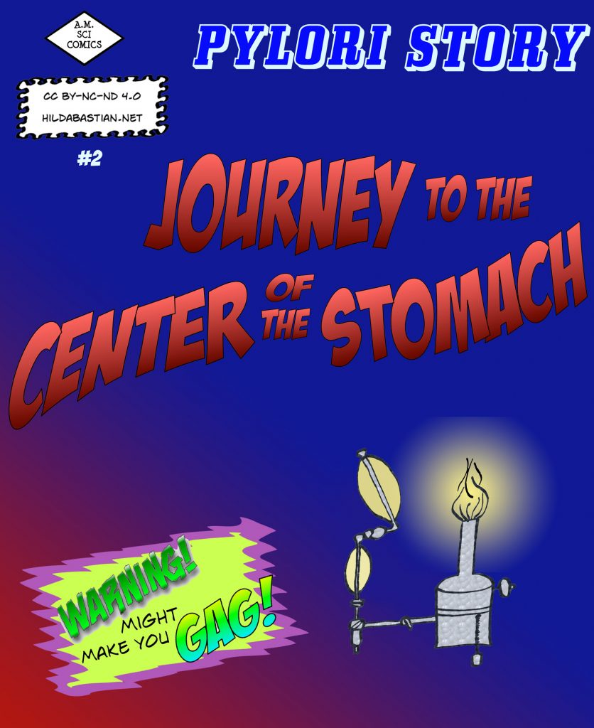 Comic cover for Journey to the Center of the Stomach