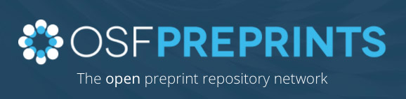 OSF preprint repository banner