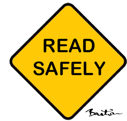Read safely sign