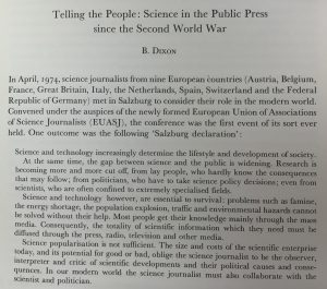 Text of the Salzburg Declaration