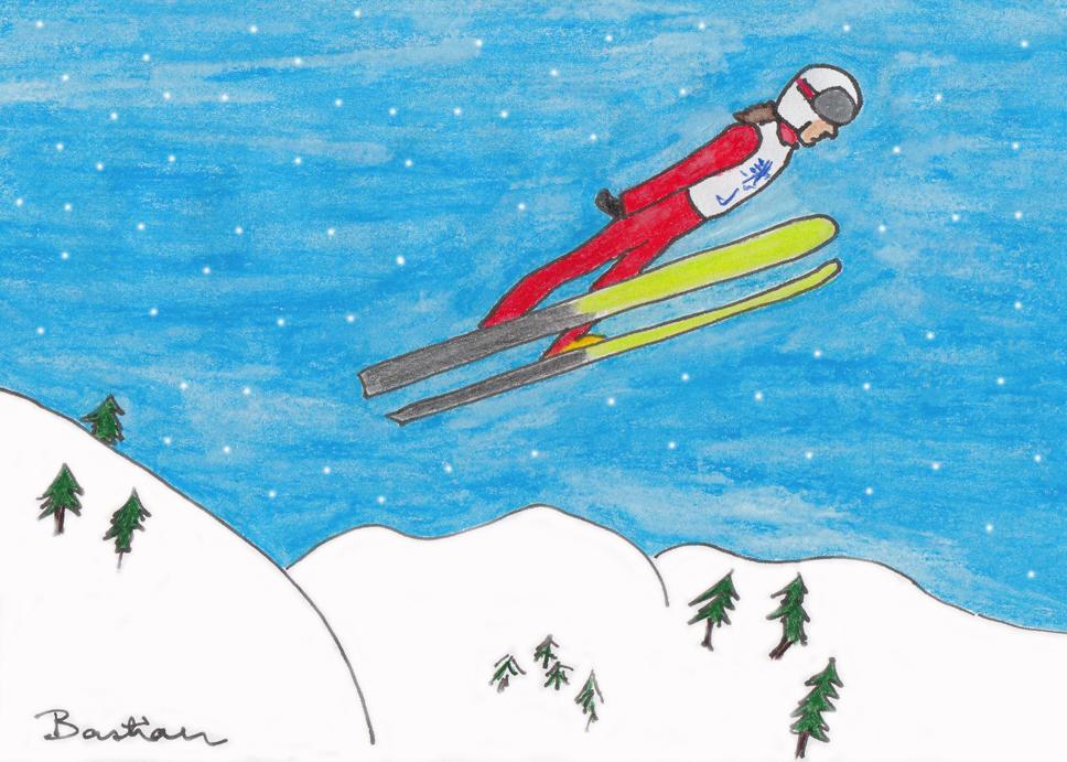 Image of ski-jumping