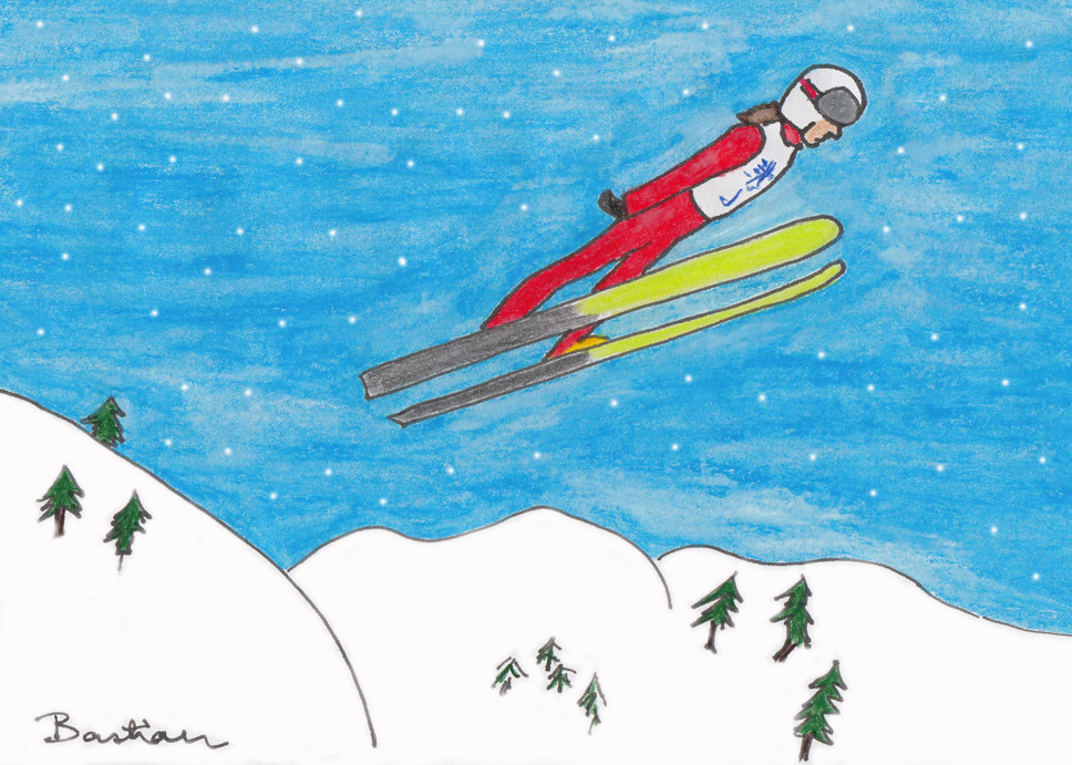 Image of ski-jumping