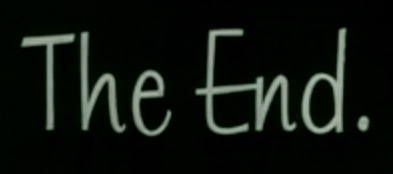 The End - film end credit