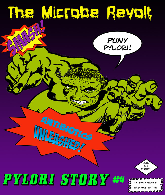 Comic cover for The Microbe Revolt
