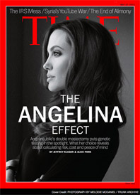 Time Magazine Cover - The Angelina Effect