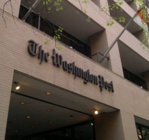 Photo of The Washington Post building